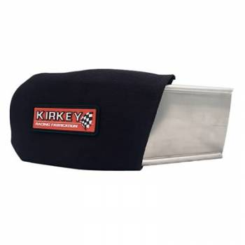 Kirkey Racing Fabrication - Kirkey Black Cloth Cover (Only) - Left - (For #KIR00600)