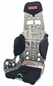 "Kirkey Racing Fabrication - Kirkey 56 Series, 58 Series Modular Black Cloth Seat Cover (Only) - For 16"" Thru 17"" Kirkey Lightweight Seats"