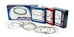 "JE Pistons - JE Pistons Pro Seal Premium Race Series Plasma-Moly Piston Ring Set - 4.155"" Bore Size, 1/16"" Top Ring, 1/16"" 2nd Ring, 3/16"" Oil Ring"