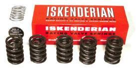 """Isky Cams - Isky Cams High Endurance™ Dual Valve Springs (Green) - 1.550"""" O.D., .740"""" I.D., 220 lbs. @ 1.950"""""""