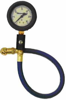 "Intercomp - Intercomp Deluxe Air Pressure Gauge 2"" - 0-30 PSI x 1 PSI Increments"