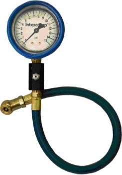 "Intercomp - Intercomp Deluxe Liquid-Filled Air Pressure Gauge 2.5"" - 0-15 PSI x 1/2 PSI Increments"