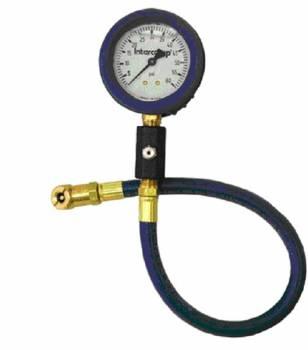 "Intercomp - Intercomp Deluxe Liquid-Filled Air Pressure Gauge 2.5"" - 0-60 PSI x 1 PSI Increments"