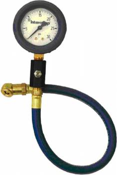 "Intercomp - Intercomp Deluxe Glow-In-The-Dark Air Pressure Gauge 2.5"" - 0-30 PSI x 1 PSI Increments"
