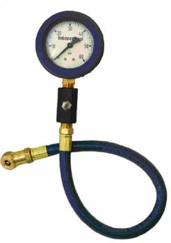 "Intercomp - Intercomp Deluxe Glow-In-The-Dark Air Pressure Gauge 2.5"" - 0-60 PSI x 1/2 PSI Increments"