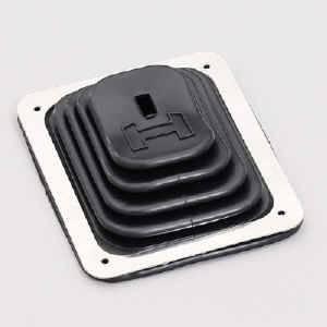 Hurst Shifters - Hurst B-4 Shift Boot & Plate