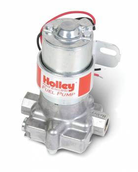"""Holley Performance Products - Holley Electric Fuel Pump - 97 GPH """"Red"""" Electric Fuel Pump"""