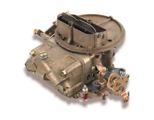 Holley Performance Products - Holley Universal Performance Carburetor - 500 CFM Two Barrel - Model 2300 (Shiny/Chromate)