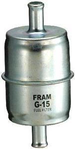 """Fram Filters - Fram Standard Fuel Filter - Steel Housing w/ 3/8"""" Ends"""