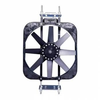 "Flex-A-Lite - Flex-A-Lite 15"" Black Magic Electric Fan - 2800 CFM - Amp Draw: 13.9"