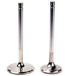 """Ferrea Racing Components - Ferrea 6000 Series Competition Exhaust Valve - SB Chevy - 1.600"""", 11/32"""" Stem Diameter, 4.960"""" Overall Length - (Set of 8)"""