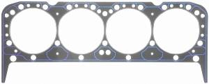 "Fel-Pro Performance Gaskets - Fel-Pro Head Gasket - SB Chevy - 4.166"" Bore, .039"" Thickness - Aluminum Heads - Pre-Flattened Copper Wire Combustion Seal"