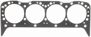 "Fel-Pro Performance Gaskets - Fel-Pro Head Gasket - SB Chevy - 4.100"" Bore, .015"" Thickness - Cast Iron, Aluminum Heads - Pre-Flattened Steel Wire Combustion Seal"