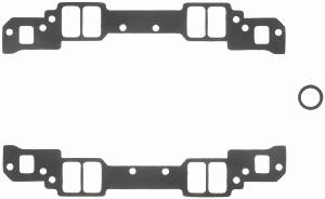 "Fel-Pro Performance Gaskets - Fel-Pro Intake Manifold Gaskets - SB Chevy - Aluminum Heads w/ Non-Conventional Ports, Chevy 18° High Port - 1.25"" x 2.15"" Port Size - .030"" Thickness"