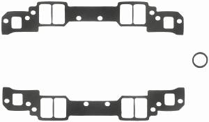 "Fel-Pro Performance Gaskets - Fel-Pro Intake Manifold Gaskets - SB Chevy - Aluminum Heads w/ Non-Conventional Ports, Chevy 18° High Port - 1.25"" x 2.15"" Port Size - .120"" Thickness"