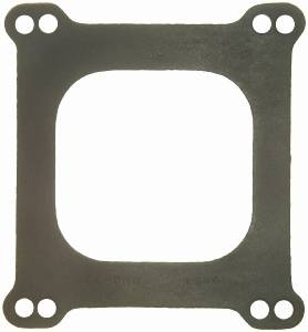 Fel-Pro Performance Gaskets - Fel-Pro Carburetor Gasket - Holley 4 BBL - Square - Open Hole
