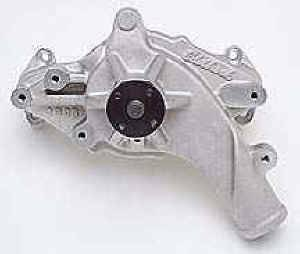 "Edelbrock - Edelbrock Victor Aluminum Water Pump - Ford FE 1965-76 352, 428 - 5/8"" Pilot Shaft - Polished"