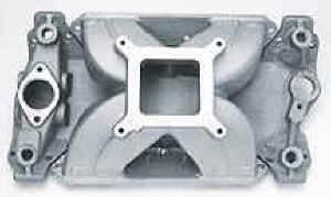 Edelbrock - Edelbrock Victor 18° Two-Piece Intake Manifold Base - SB Chevy