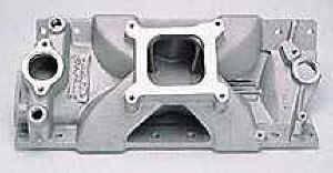 "Edelbrock - Edelbrock Victor Jr. Tall Intake Manifold - SB Chevy - 1"" Taller"