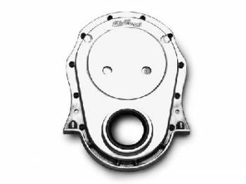Edelbrock - Edelbrock Aluminum Timing Cover - Big-Block Chevrolet