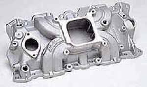 Edelbrock - Edelbrock Torker II Intake Manifold - SB Chevy - (Non-EGR)