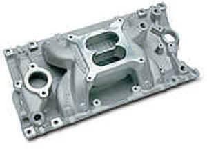 Edelbrock - Edelbrock Performer RPM Air-Gap Intake Manifold - SB Chevy Vortec (Non-EGR)