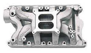 Edelbrock - Edelbrock Performer RPM Air-Gap Intake Manifold - RPM Air-Gap Ford 351-W