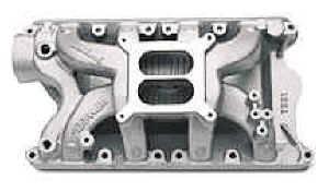 Edelbrock - Edelbrock Performer RPM Air-Gap Intake Manifold - RPM Air-Gap Ford 351-W