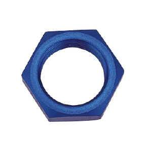 Earl's Performance Products - Earl's Aluminum Bulkhead Nut for AN Adapters -08 AN