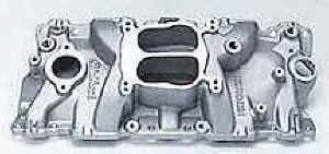 Edelbrock - Edelbrock Performer Intake Manifold - SB Chevy - For 1987 & Later Cast Iron Cylinder Heads (Idle-5500 RPM)