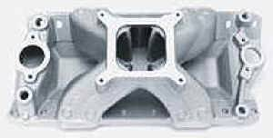Edelbrock - Edelbrock Super Victor 4500 Intake Manifold - SB Chevy 23° Heads