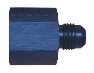 Earl's Performance Products - Earl's Aluminum AN Reducer w/ O-Ring Seal -08 AN Female to -06 AN Male