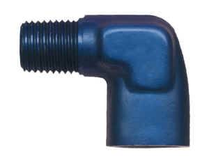 """Earl's Performance Products - Earl's 90° Elbow - Internal, External Pipe Thread - 1/4"""" NPT"""