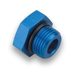 Earl's Performance Products - Earl's Port Plug w/ O-Ring Seal -08 AN