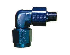 """Earl's Performance Products - Earl's 90° AN to Male Swivel NPT Adapters -08 AN to 1/2"""" NPT"""
