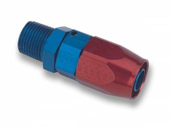 "Earl's Performance Products - Earl's Swivel Seal Straight Male Pipe Thread Hose End -06 AN to 1/8"" NPT"