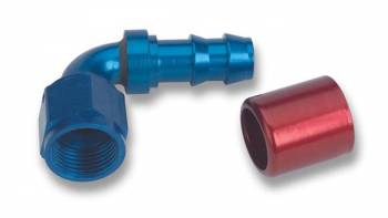 "Earl's Performance Products - Earl's Super Stock 90° Hose End -08 AN, -08 AN Hose, 1/2"" Hose Size"