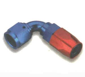 Earl's Performance Products - Earl's 90° Swivel-Seal Tube Hose End -12 AN