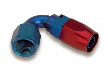 Earl's Performance Products - Earl's 120° Swivel-Seal Tube Hose End -08 AN