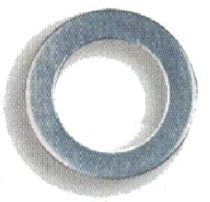 "Earl's Performance Products - Earl's AN 901 Aluminum Crush Washers -04 AN, 7/16"" I.D. - (10 Pack)"