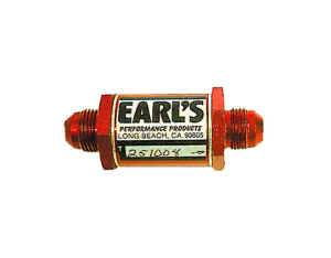 Earl's Performance Products - Earl's Flapper Style Check Valve -08 AN - 150 PSI Max - .5 PSI to Seal