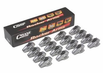 "Crane Cams - Crane Cams Energizer Aluminum Roller Rocker Arm Set - SB Chevy Standard - 1.5 Ratio, 3/8"" Rocker Arm Stud"