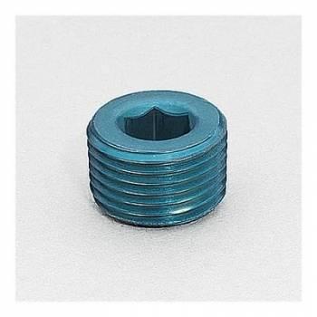"""Aeroquip - Aeroquip Aluminum 1/2"""" NPT Allen Head Pipe Plug"""