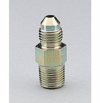 "Aeroquip - Aeroquip Steel -08 Male AN to 1/4"" NPT Straight Adapter"
