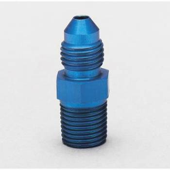 "Aeroquip - Aeroquip Aluminum -12 Male AN to 1"" NPT Straight Adapter"