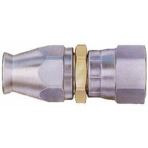 Aeroquip - Aeroquip Steel Reusable #6 Teflon Hose to Female -06 Straight Swivel Fitting