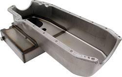 Allstar Performance - Allstar Performance Claimer Oil Pan - SB Chevy - 6 Quart Capacity - RH Dipstick