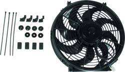 "Allstar Performance - Allstar Performance Reversible Electric Fan  - 10"" Curved Blade - 980 CFM"