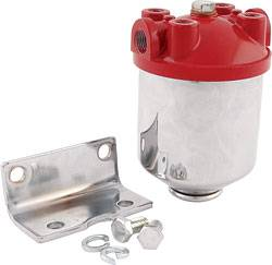 Allstar Performance - Allstar Performance Hi-Flow Chrome Fuel Filter