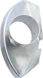 Allstar Performance - Allstar Performance RH Aluminum Single Spindle Duct - Heavy Duty